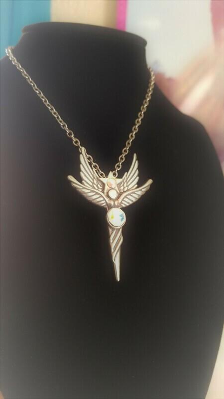 LOVE Sedona Star Angel Sterling Silver/Retreat Angel sale $244.00