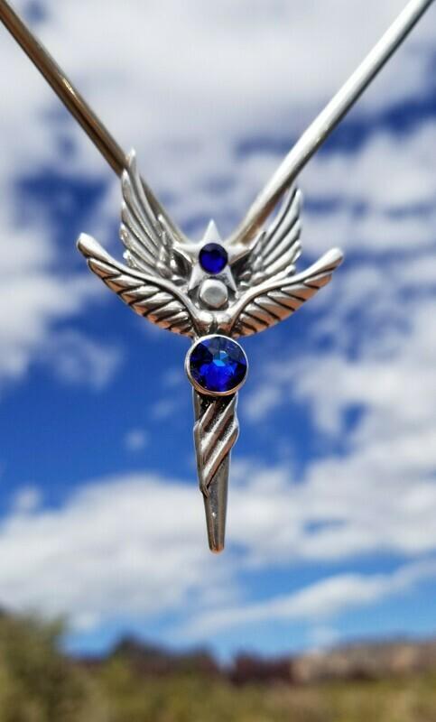 Beautiful Sedona Star Language of Light Angel/Blue Ray Angel sale$213/$244.00
