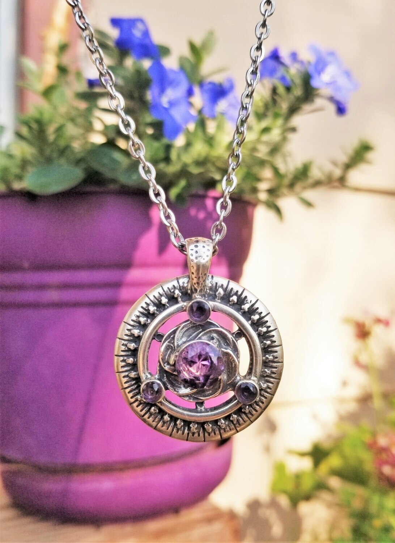 Amethyst Violet Healing Beacon/Quantum Frequency Harmonizer Pendant Sale/$313/$333