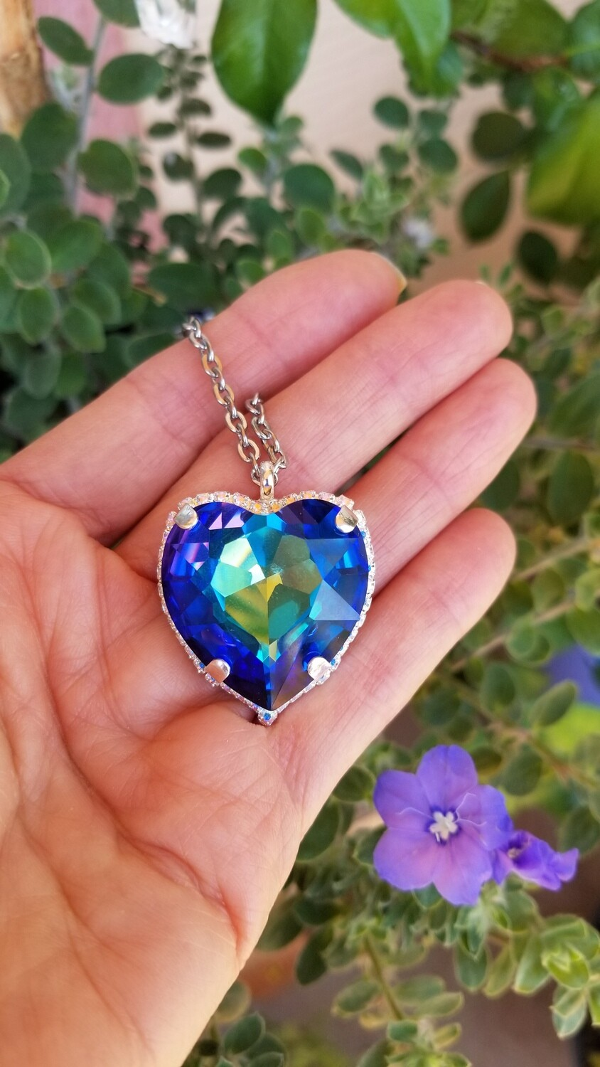 Blue Ray Heart Radiance $188.00
