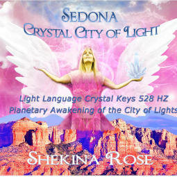 Sale $20/25.00 Sedona Crystal City Language of Light Transmission {Direct Download}