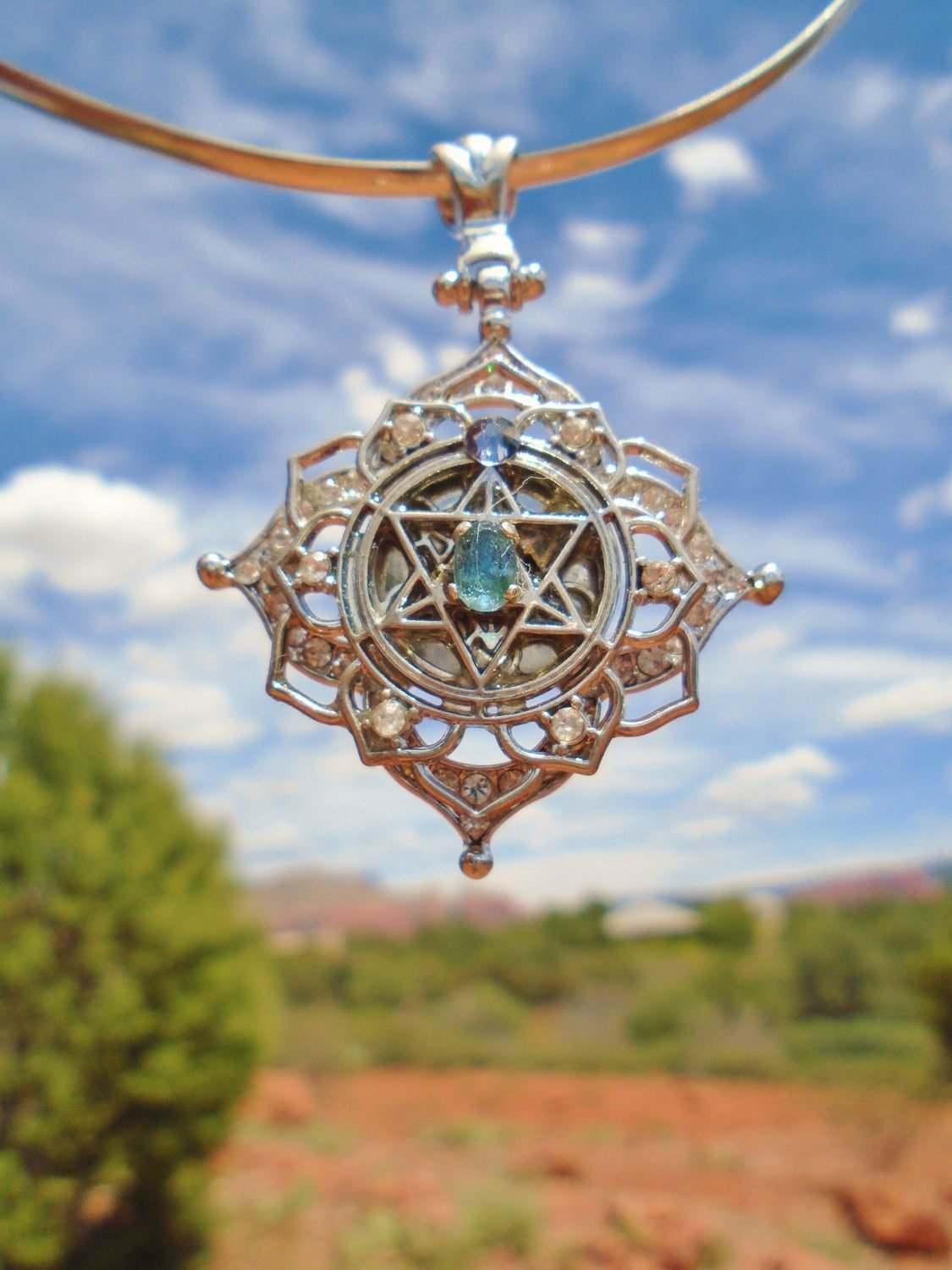 Christ Star Merkaba kyanite