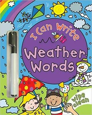 I Can Write: Weather Words