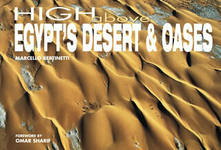 High above Egypt's Desert and Oases