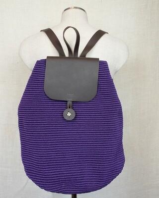 Large Backpack: Purple