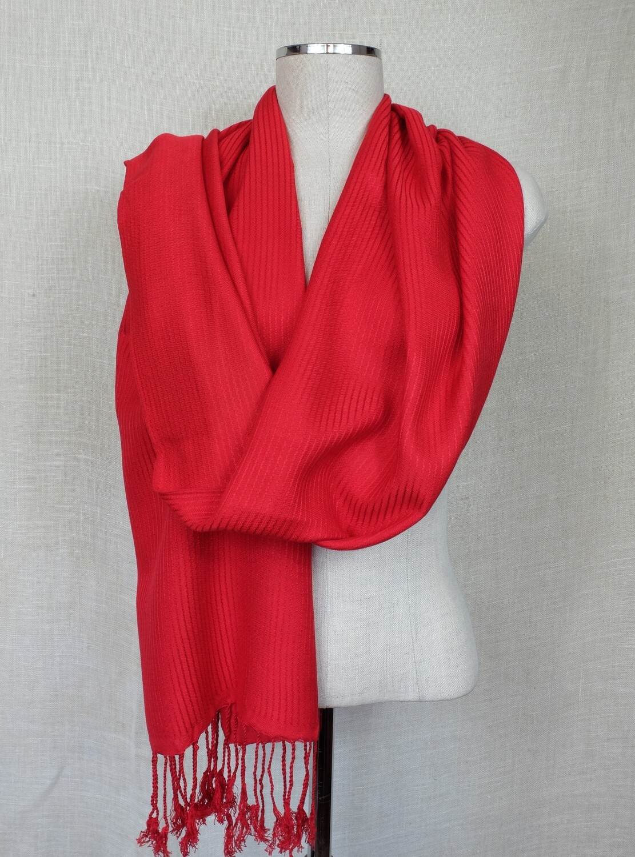 Dafayer Red Shawl