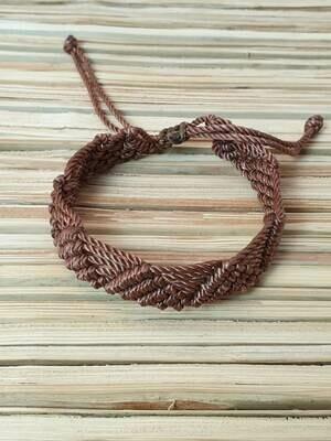 Pyramids & Lines Bracelet