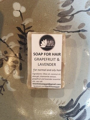 Grapefruit & Lavender Soap for Hair