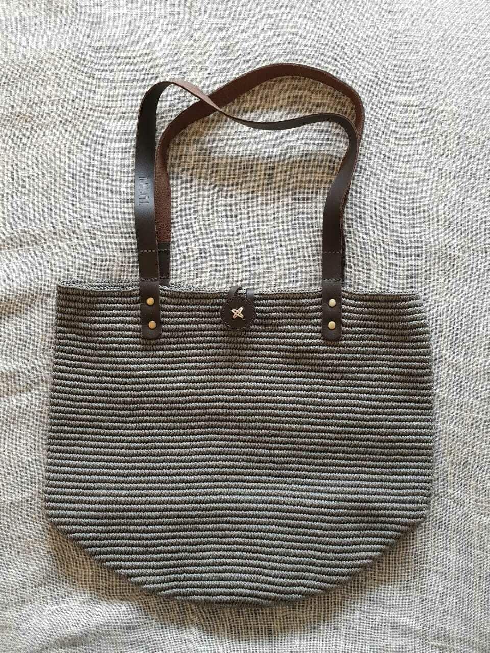 Shoulder Bag: Grey
