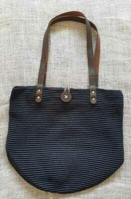 Shoulder Bag: Navy