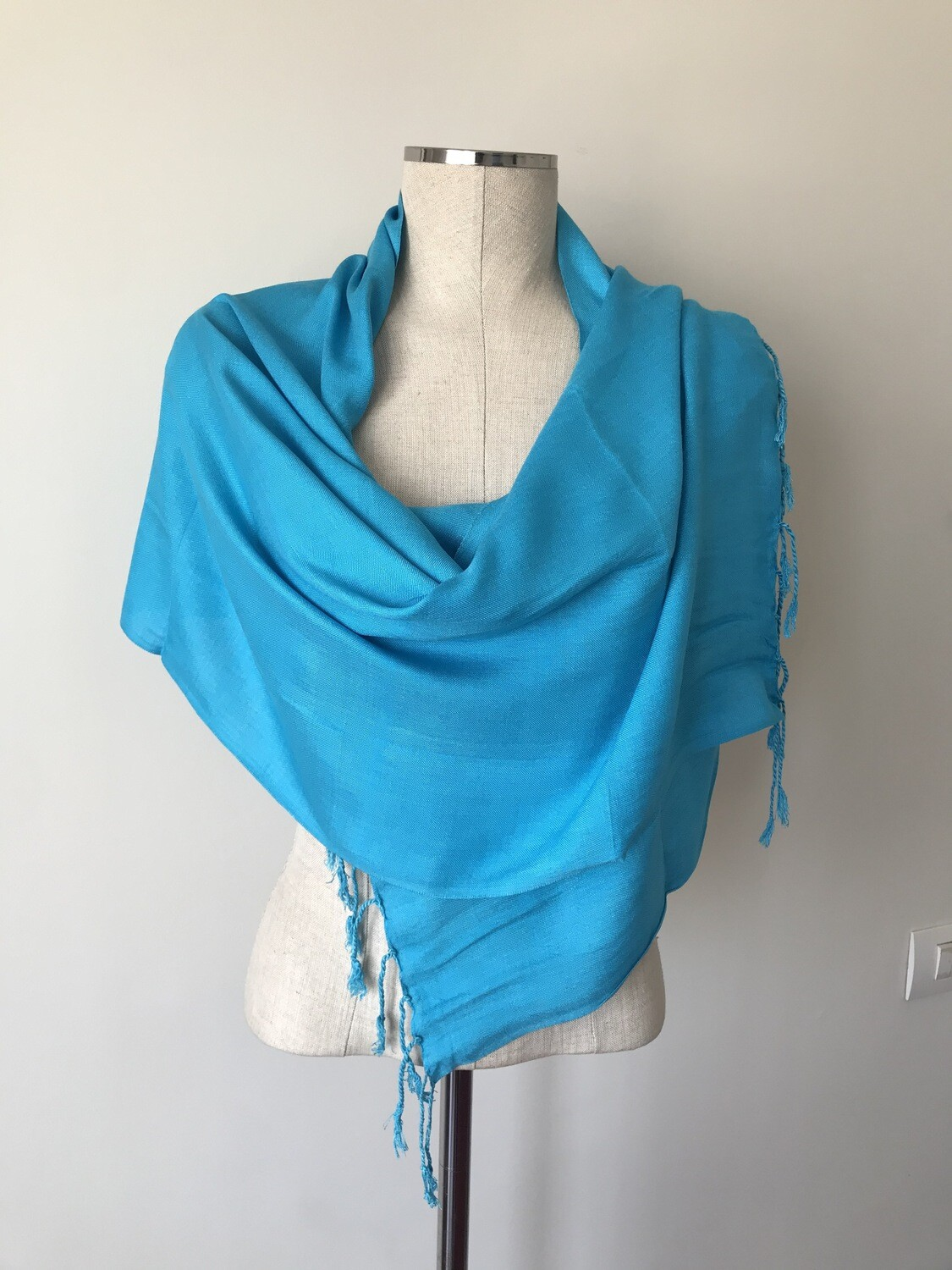 Turquoise  Small Scarf