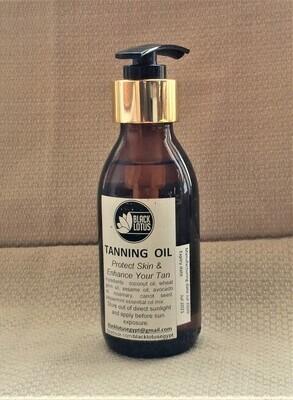 Black Lotus Tanning oil