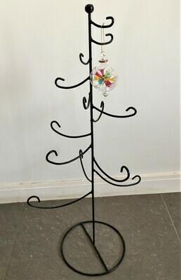 Metal Christmas Tree. Black