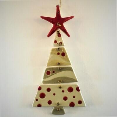 Zein Ceramic Christmas Tree White