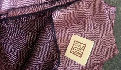 Double-faced Shawl Silk Mauve
