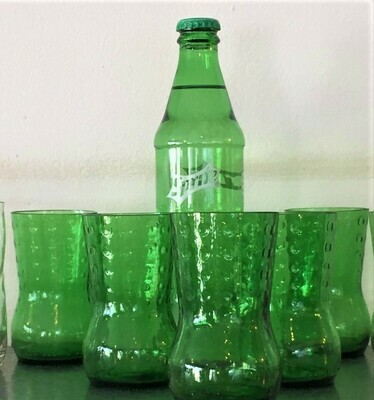Set of 4 Sprite glasses