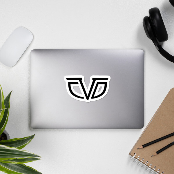 CDV Logo Bubble-free sticker