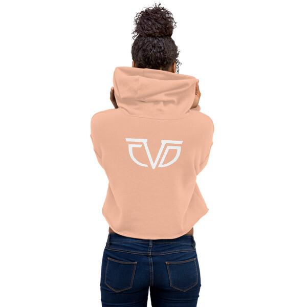 CDV Summer Vibes Large Logo Crop Hoodie