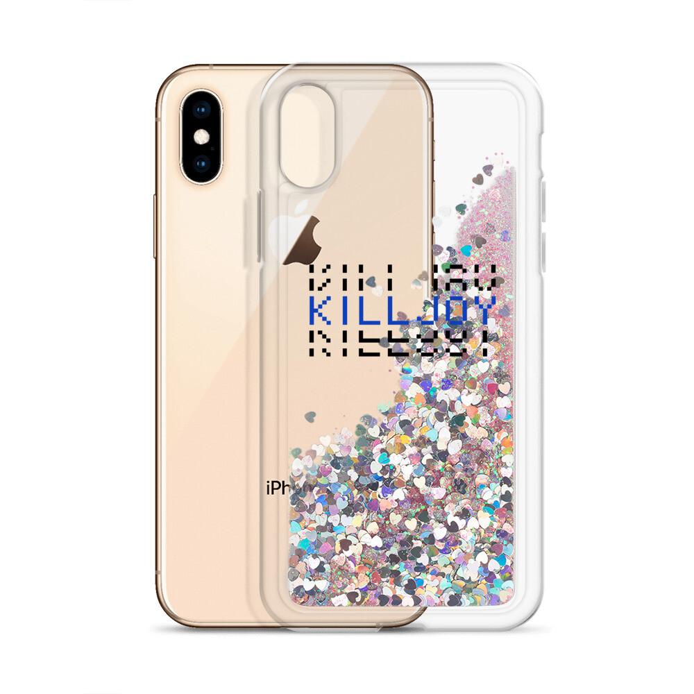 Killjoy Liquid Glitter Phone Case
