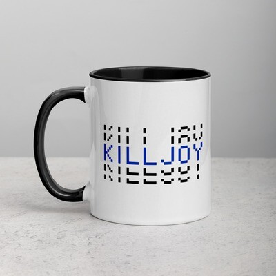 Killjoy Mug with Color Inside