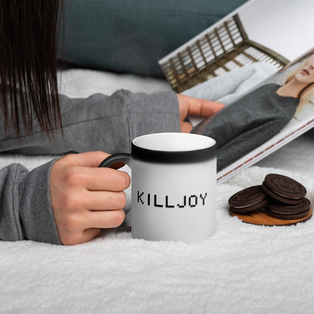 Killjoy Matte Black Magic Mug