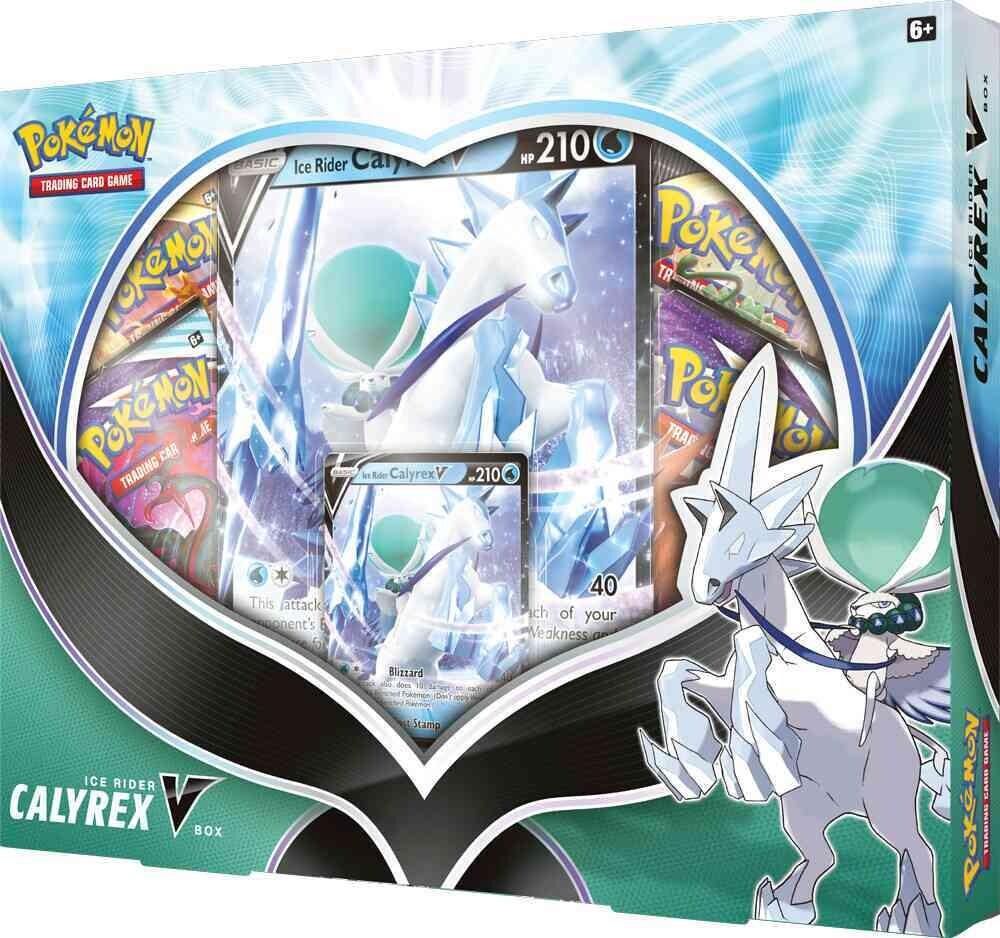 Pokémon - Schwert und Schild - Ice Rider Calyrex V Kollektion