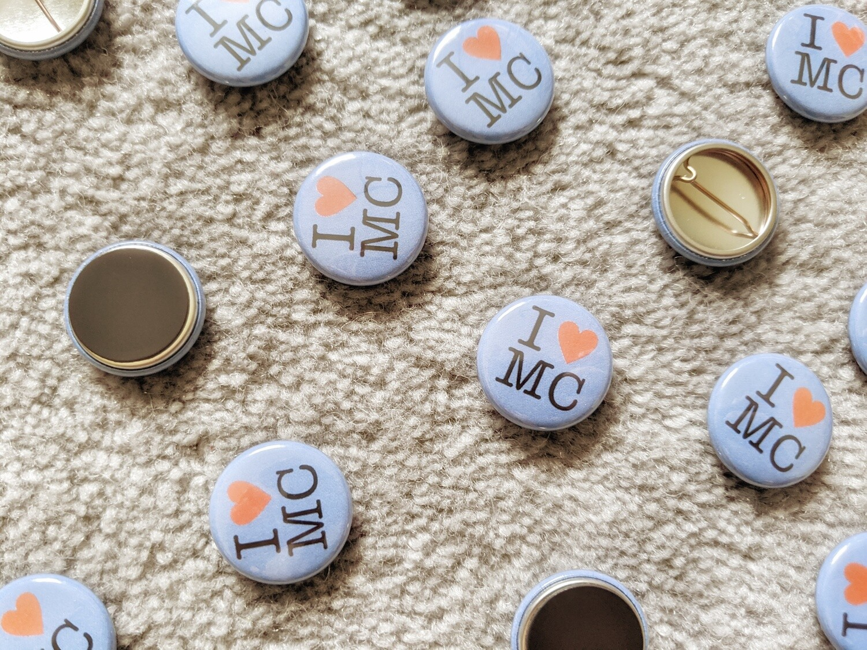 Pin Badge & Fridge Magnet