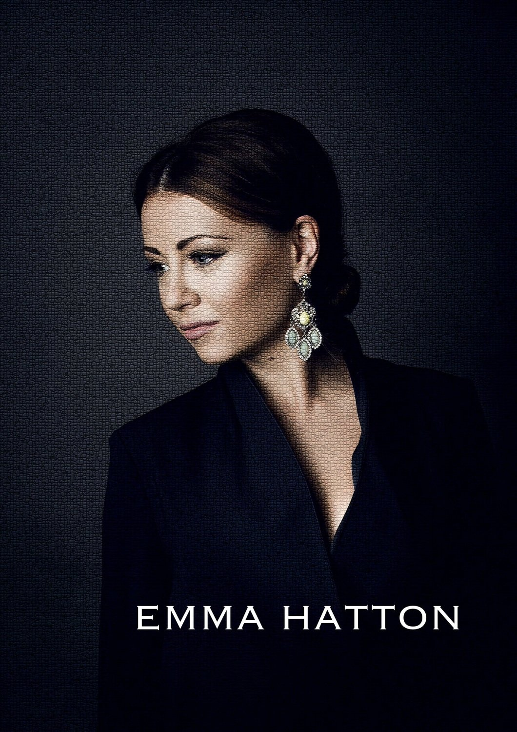PERSONALISED SIGNED Emma Hatton A3 Poster (FREE SHIPPING)