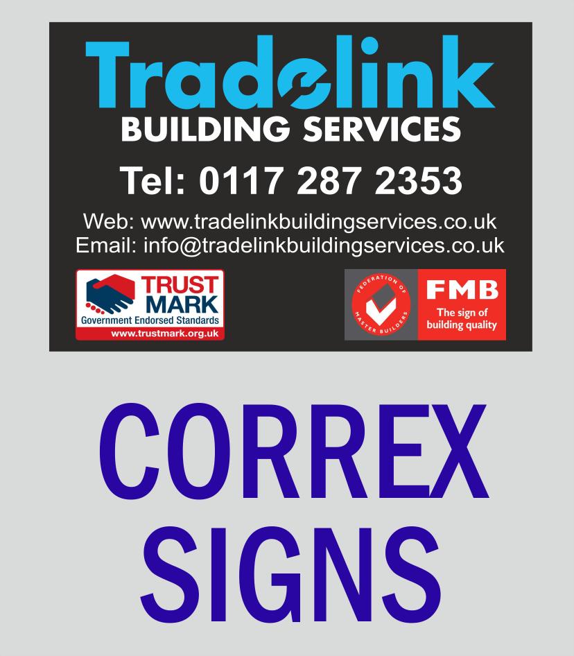Correx  Signs & Site Boards