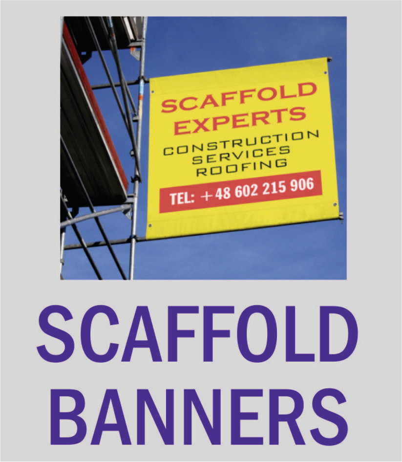 PVC Scaffold Banners Banners