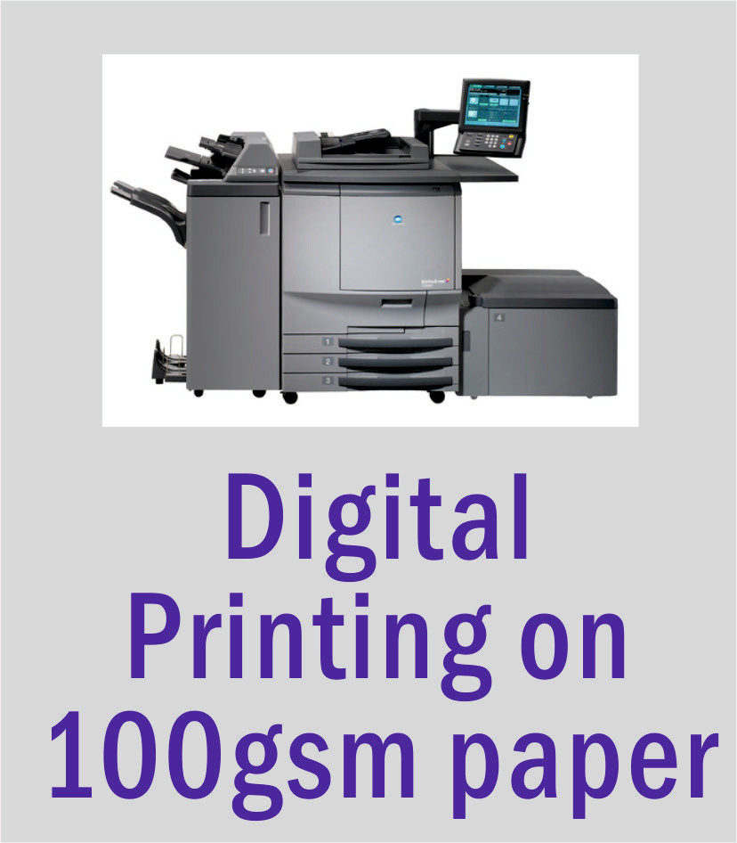 A4 Digital Printing on 100gsm Smooth Paper