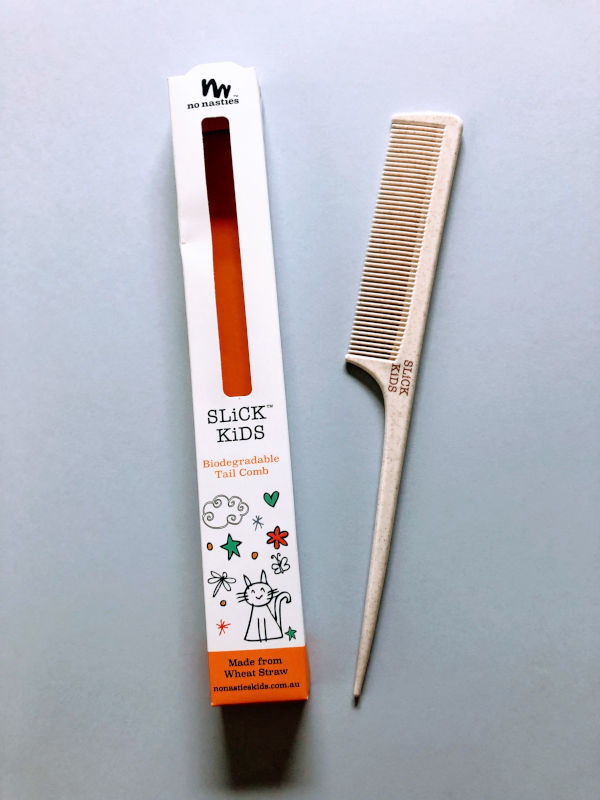 No Nasties SLiCK Kids Biodegradable Tail Comb