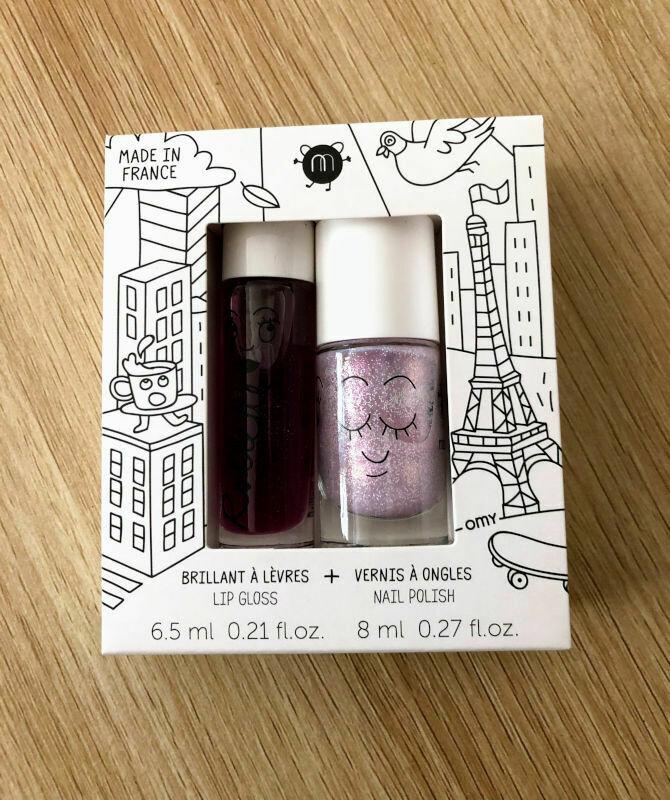 Nailmatic kids lip gloss and nail polish - Lovely City