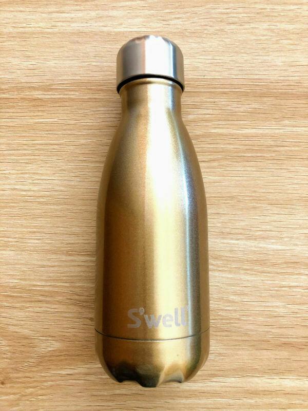 S'well Insulated Bottle Gold Glitter 260ml