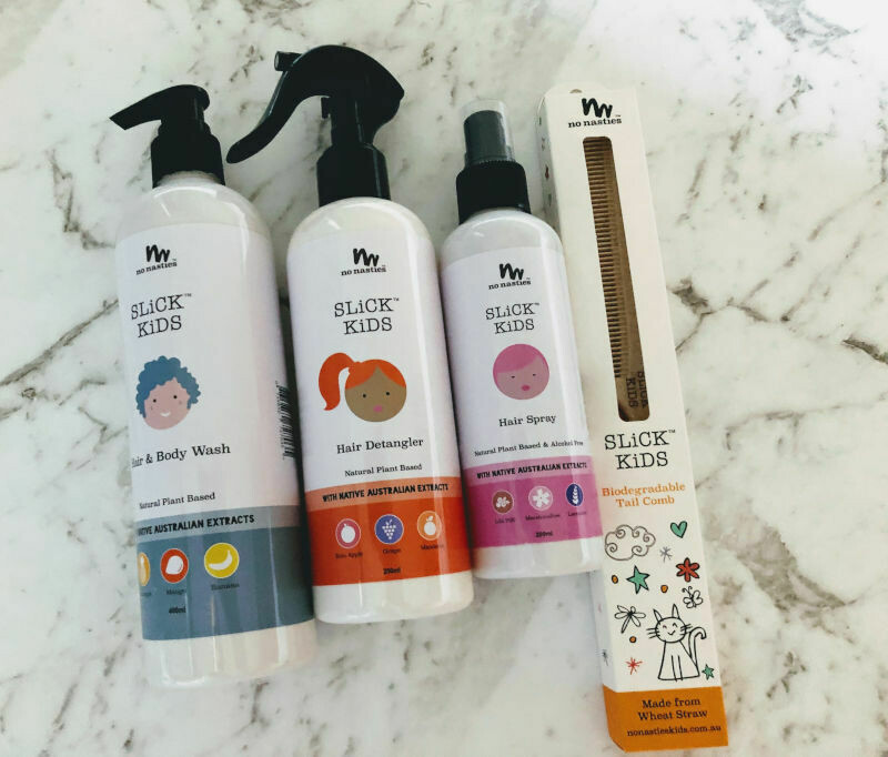 No Nasties SLiCK Kids hair and body wash pack