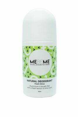 MEBEME Natural Deodorant Fresh Citrus 50ml