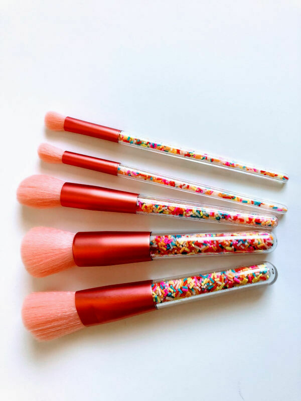 Makeup Brush Set Sprinkles