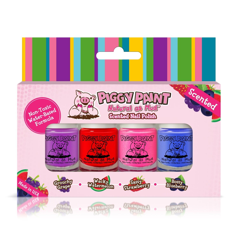 Piggy Paint Scented Mini Nail Polish Set
