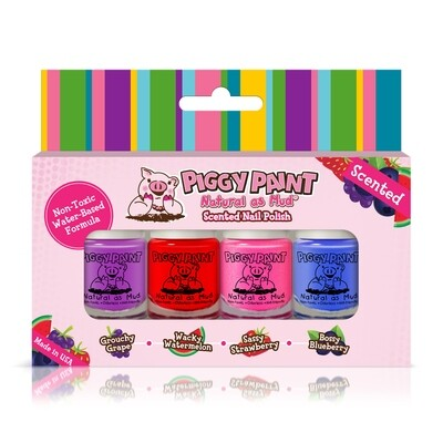 Piggy Paint Scented Mini Nail Polish Set