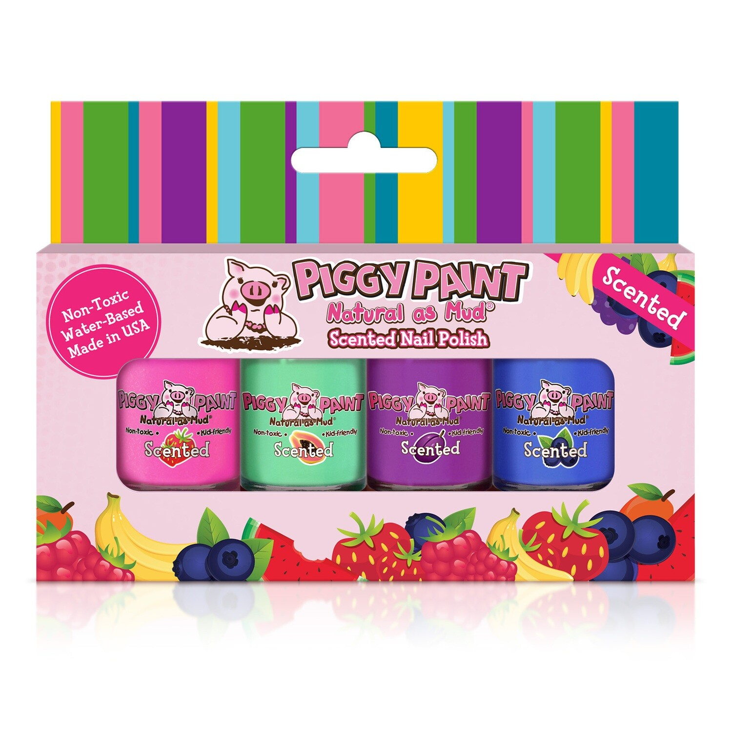Piggy Paint Scented Fruit Fairy Nail Polish Set