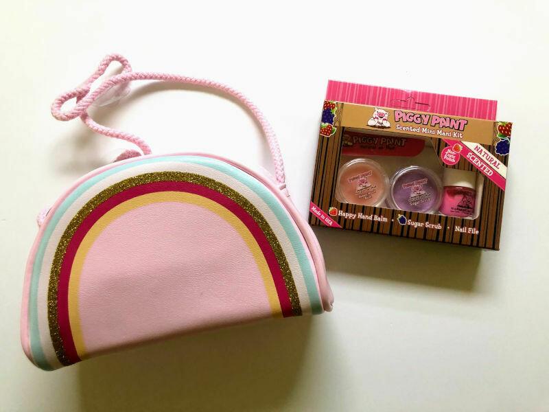 Play Makeup Gift Bag - Pink Rainbow 2