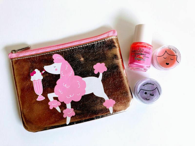 Play Makeup Gift Bag - Gold Poodle 2