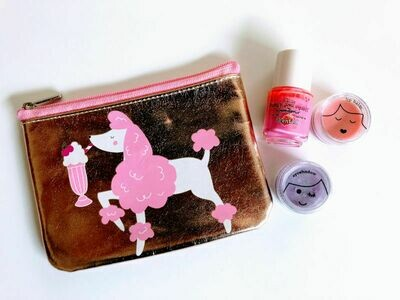 Play Makeup Gift Bag - Gold Poodle 2