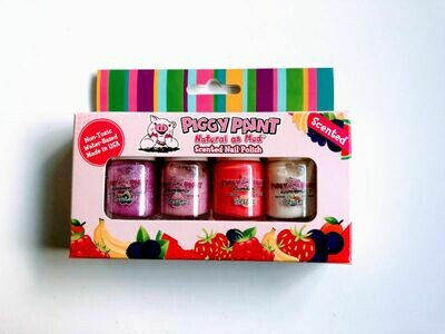 Piggy Paint Scented Sweet Treats Nail Polish Set