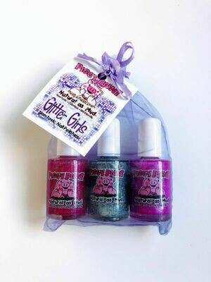 Piggy Paint Glitter Girls Trio Gift Pack