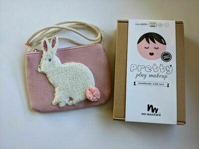 Play Makeup Gift Bag - Pink Pom Pom Bunny2