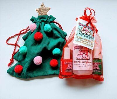 Christmas Tree Gift Bag - Jingle Nail Rock