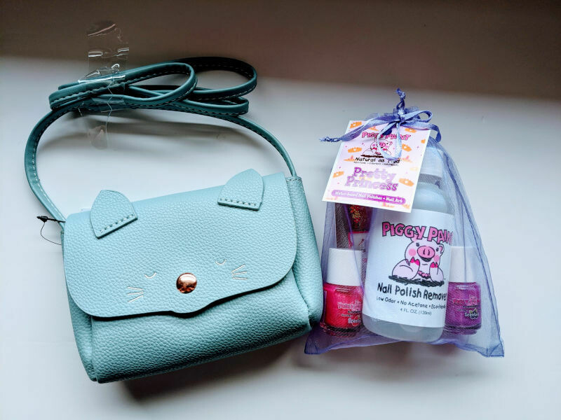 Play Makeup Gift Bag - Blue Cat Pretty Princess