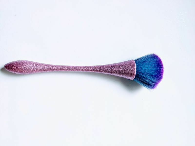Glittery Makeup Brush