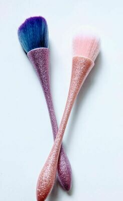 Glittery Makeup Brush